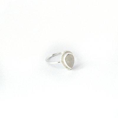 Rainbow Moonstone Silver