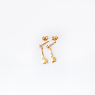Moon lover studs
