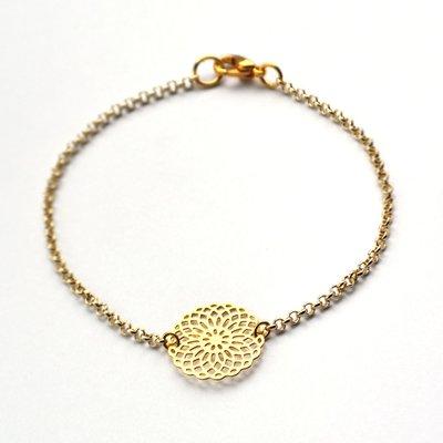 Armband Mandala goud