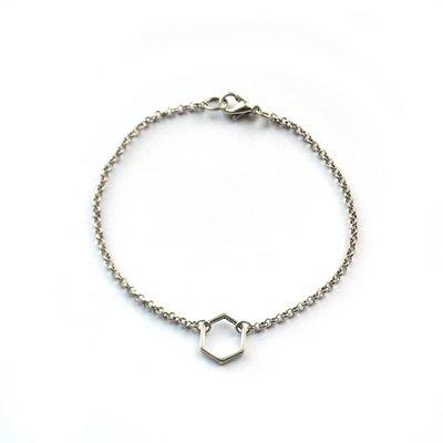 Simplicity hexagon (S)