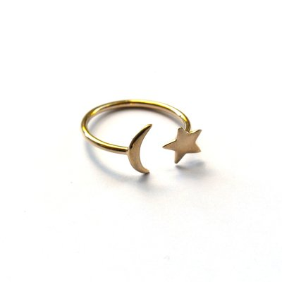 Moon & Star gold