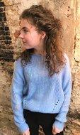 Licht blauwe trui