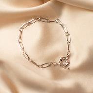 Coco bracelet • chunky statement silver