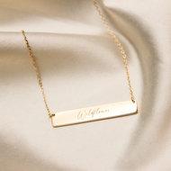 Wildflower necklace ❀ gold