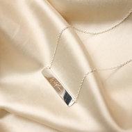 Wildflower necklace ❀ silver
