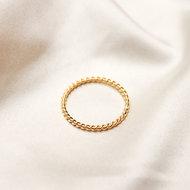 Arizona ring ♥ twisted gold